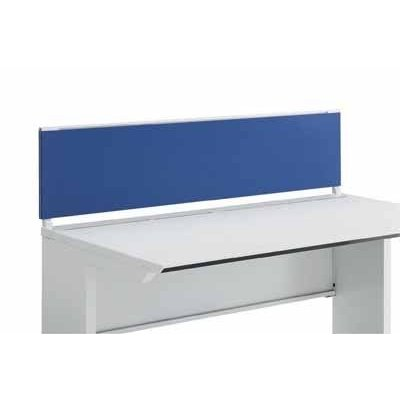 コクヨ ISデスクシステム デスクトップパネル フロントタイプ フロントタイプ 幅1100×高さ500MM クロスカラー HST1 ホワイトブルー