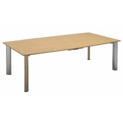 コクヨ コクヨ 会議用テーブル WT-150シリーズ 会議用テーブル ボート型天板 幅4000×奥行き1200×高さ700MM カラー T67