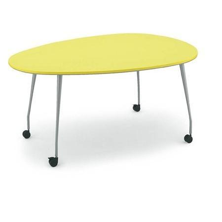 コクヨ 会議 ミーティング用テーブル パプリカ 卵形テーブル 天板カラー RB62