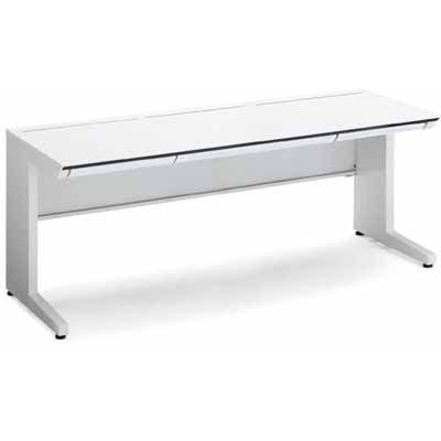 コクヨ ISデスクシステム スタンダードテーブル センター引き出し付き 幅1300×奥行き750MM 天板色 PAW ホワイト