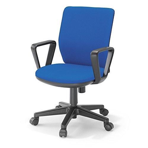 コクヨ オフィスチェア AXチェア Tタイプ AXB-R4B4 ローバック ローバック サークル肘 ブルー