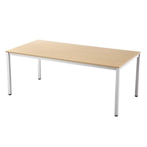 アールエフヤマカワ ミーティングテーブル W1800XD900 ナチュラル RFMT-1890NN RFYAMAKAWA RFYAMA