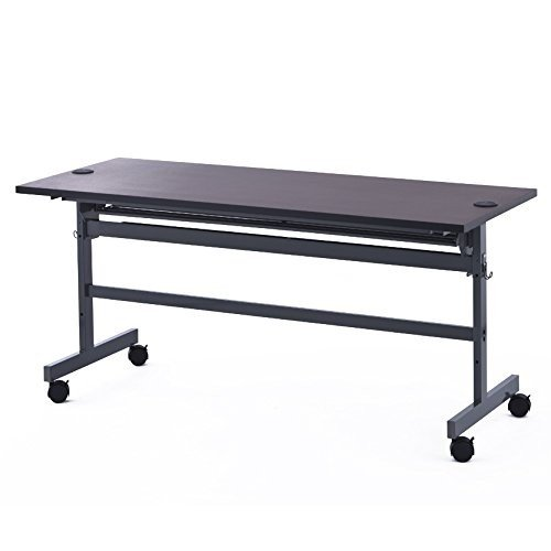 アールエフヤマカワ 配線機能付きフォールディングテーブル2 W1500XD600 ダーク SHFTL-1560DB RFYAMAKAWA