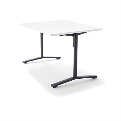 コクヨ 配送・組立・設置込 ミーティングテーブル DAYS OFFICE FLIP TOP XY-TFT128SCE6AMCW 幅120× 幅120×
