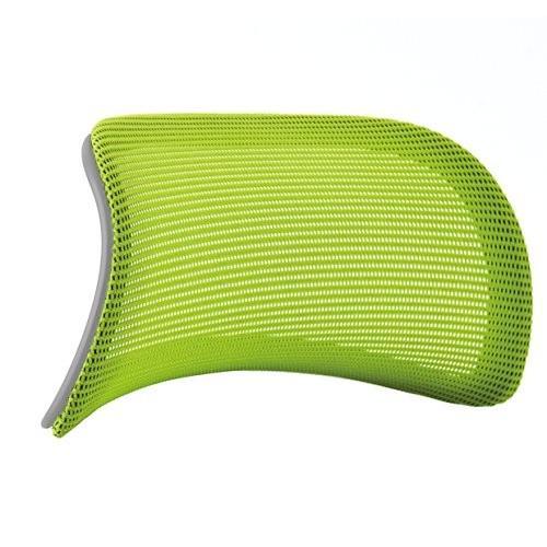 オカムラ オプションパーツ コンテッサ 大型ヘッドレスト グレーボディ用 グレーボディ用 ライムグリーン CM501G-FBC6