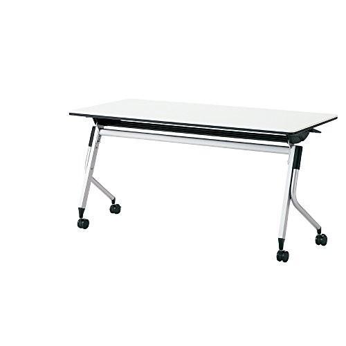 プラス LINELLO 2 フォールディングテーブル 高さ70CMタイプ 幕板なし LD-520-70 ホワイト 621924