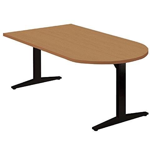 プラス 会議テーブル 会議テーブル STAGEO テーブル長U形 ST-180TU ミディアムウッド 623571