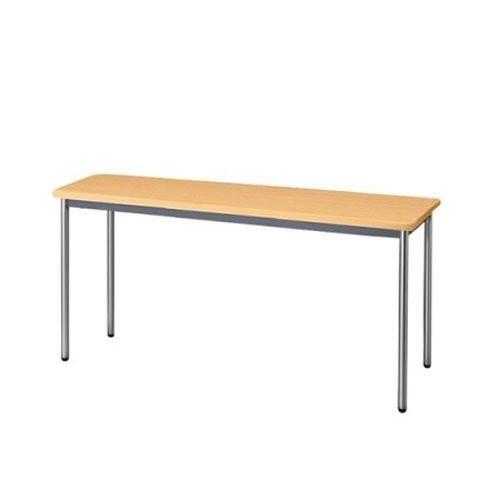 生興 テーブル MTS型会議用テーブル W1800×D450×H700 4本脚タイプ 棚なし MTS-1845OS ペールアルダー