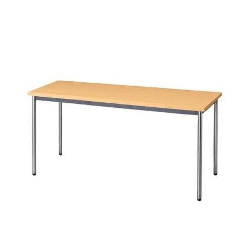 生興 テーブル MTS型会議用テーブル W1800×D600×H700 4本脚タイプ 棚なし MTS-1860OT ペールアルダー