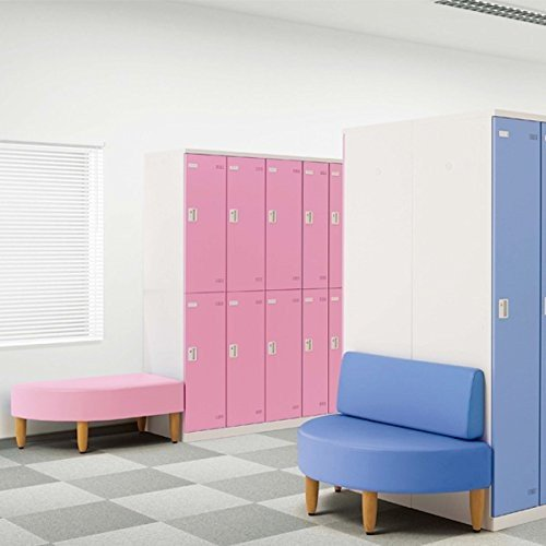 生興 ロッカールームベンチ ロッカールームベンチ LRBシリーズ 角型 K W900×D515×H400 LRB-095K ピンク