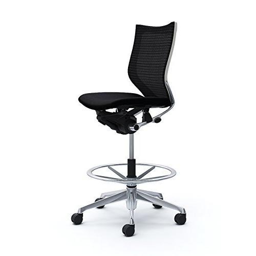 オカムラ オフィスチェア バロン バロン ローバック ハイポジションチェア 肘なし ブラック CP38BW-FDF1