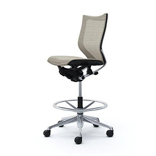オカムラ オカムラ オフィスチェア バロン ローバック ハイポジションチェア 肘なし ホワイト CP38AR-FEH3