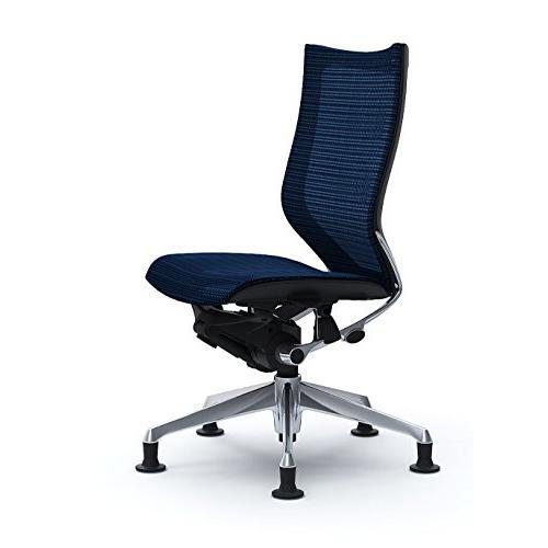 オカムラ オフィスチェア オフィスチェア バロン ハイバック オートリターンチェア 肘なし ダークブルー CP55ER-FDH4