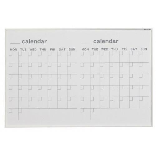 馬印   MR SERIES エムアールシリーズ 壁掛 予定表 カレンダー ホワイトボード W910×H610MM MR23W 文具・玩具 文|offic-one