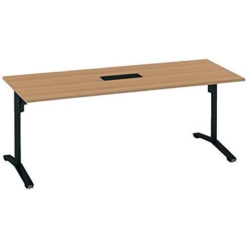 コクヨ 配送・組立・設置込 ミーティングテーブル ビエナ MT-V187BE6AMP2-C 天板固定配線ボックス付きタイプ 天板固定配線ボックス付きタイプ 幅180
