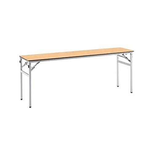 コクヨ      ミーティングテーブル フォールディングテーブル KT-220 W1800×D450×H700MM KT-220 ライトナチ|offic-one