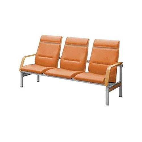 コクヨ 待合室用ベンチ 480シリーズ W1860×D725×H955MM W1860×D725×H955MM CN-483H ソフトタンジェリン