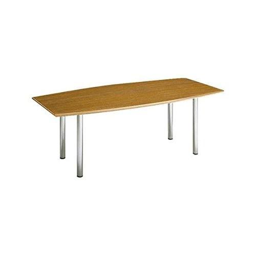 コクヨ ミーティングテーブル ミーティングテーブル 舟形 MT-70シリーズ W2000×D1000×H700MM MT-75 チーク
