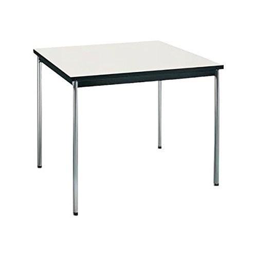 コクヨ      ミーティングテーブル 正方形 W900×D900×H700MM BT-411 ナチュラルグレー|offic-one