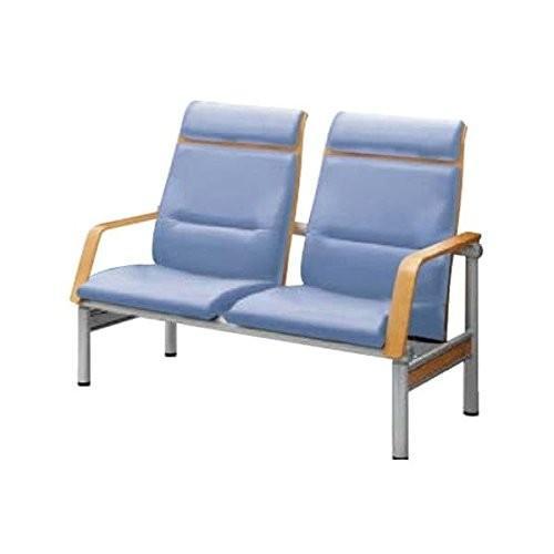 コクヨ コクヨ 待合室用ベンチ 480シリーズ W1265×D725×H955MM CN-482H ライトマリン