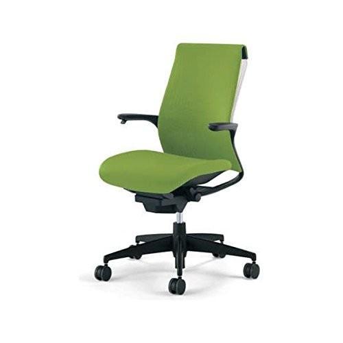 コクヨ オフィスチェア オフィスチェア オフィスチェア ハイバック M4 エムフォー CR-G2201F6 リーフグリーン edb
