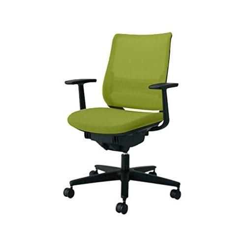 コクヨ オフィスチェア オフィスチェア ミドルバック MITRA ミトラ CR-G2921E6-W ライトオリーブ