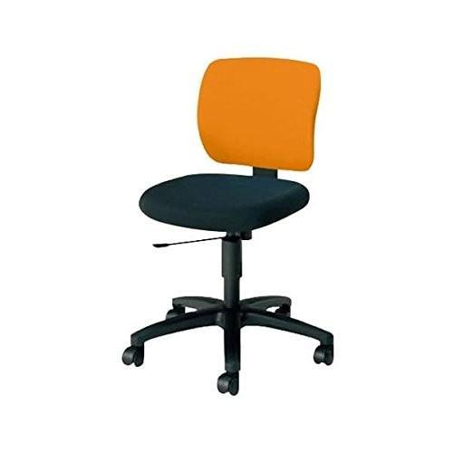 コクヨ オフィスチェア ローバック EAZA イーザ CR-G182F6C-W CR-G182F6C-W マンダリンオレンジ