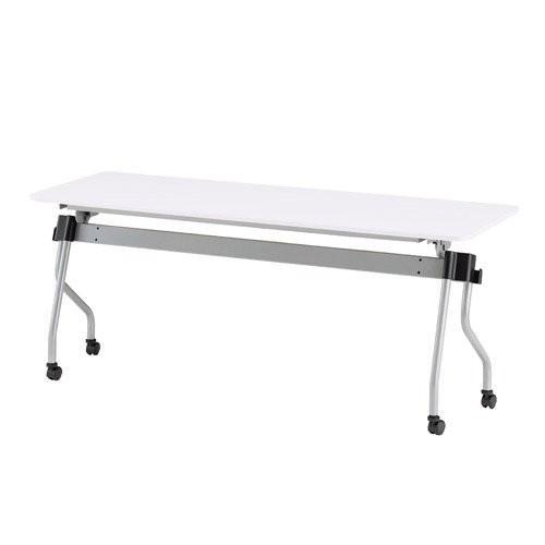 トキオ NTA-Nホールディングテーブル パネル無 W1800×D600×H720MM W1800×D600×H720MM W1800×D600×H720MM NTA-N1860 ホワイト d02