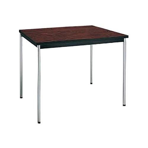 コクヨ      ミーティングテーブル 正方形 W750×D750×H700MM BT-310 ローズウッド|offic-one