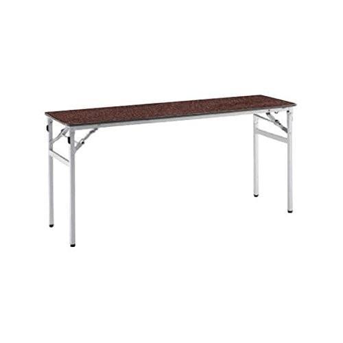 コクヨ      ミーティングテーブル フォールディングテーブル KT-220 W1500×D450×H700MM KT-S223 ブラウ|offic-one