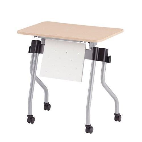 トキオ NTA-Nホールディングテーブル パネル付 パネルカラー ホワイト W700×D500×H720MM NTA-N750PW ナチ