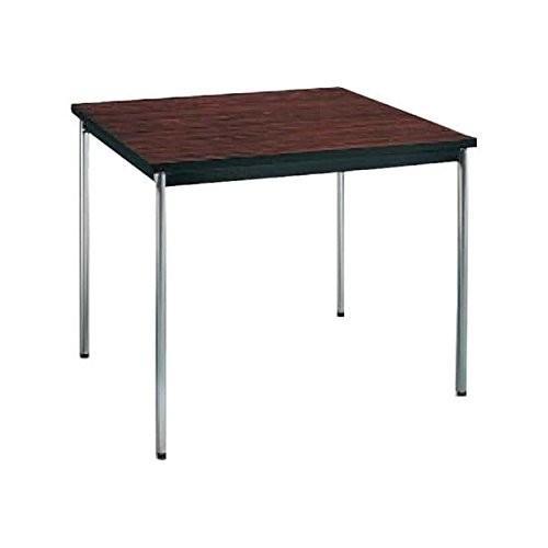 コクヨ      ミーティングテーブル 正方形 W900×D900×H700MM BT-411 ローズウッド|offic-one