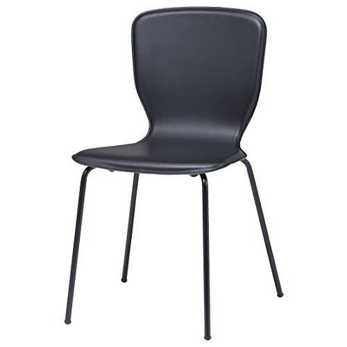 井上金庫 4脚セット 4脚セット レザー ミーティングチェア GD-817 会議用チェア おしゃれな椅子 事務椅子 カフェ 飲食店 業務用 フ
