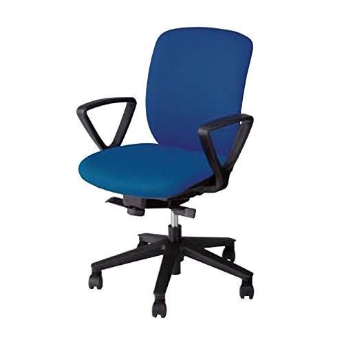 ナイキ ナイキ オフィスチェア 事務用チェアー 肘付 VE511F-BL ブルー