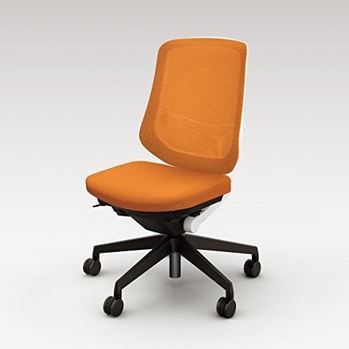 ナイキ オフィスチェア ミドルバック 肘無し 肘無し SLE512F-OR オレンジ