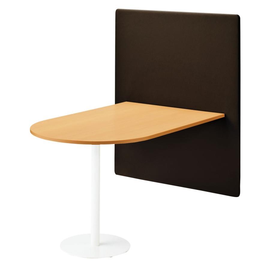 ライオン事務器 品番32804 パネル付テーブル テーブル天板(W750×D1600) 45LC-1675N-AG