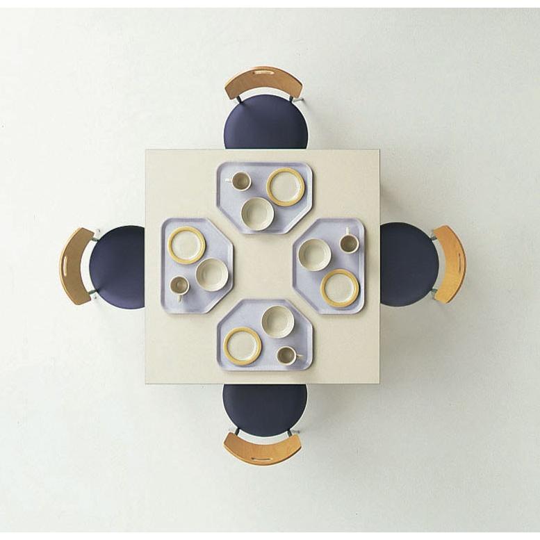 ライオン事務器 品番59127 リフレッシュテーブル No.6003T 正方形 ホワイト リフレッシュテーブル No.6003T 正方形 ホワイト