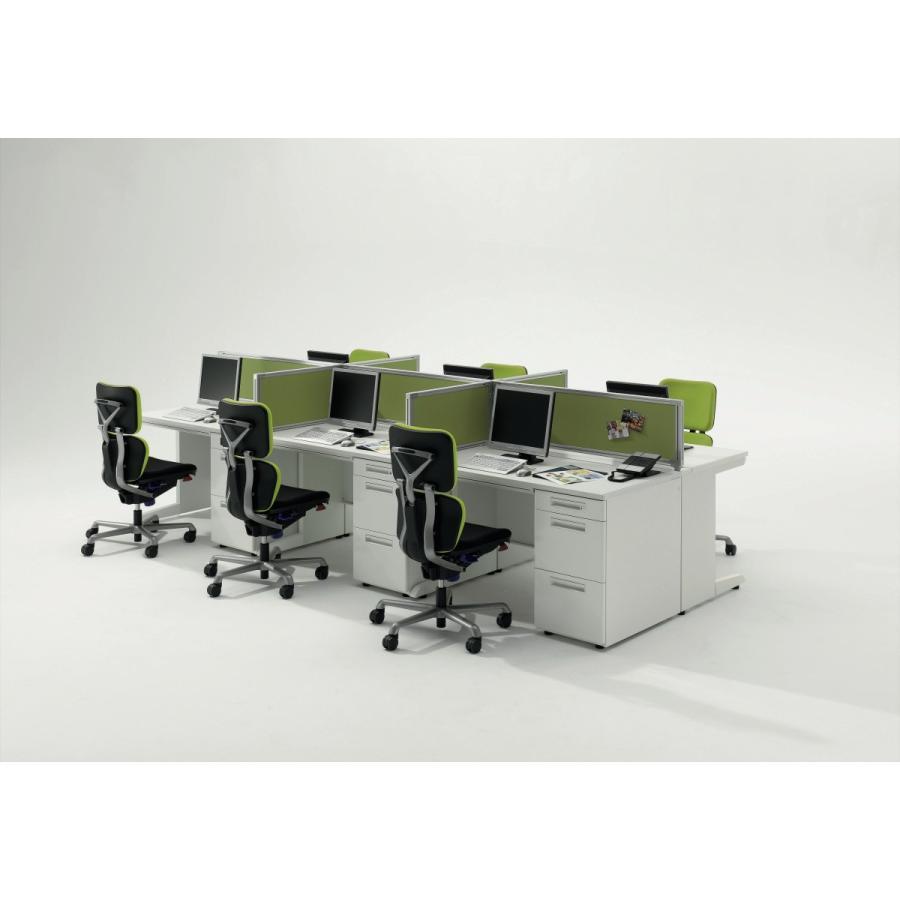 ライオン事務器 品番73940 フリーアドレスタイプ用デスクトップパネル EHP-VSP-FS フロスト offic-one