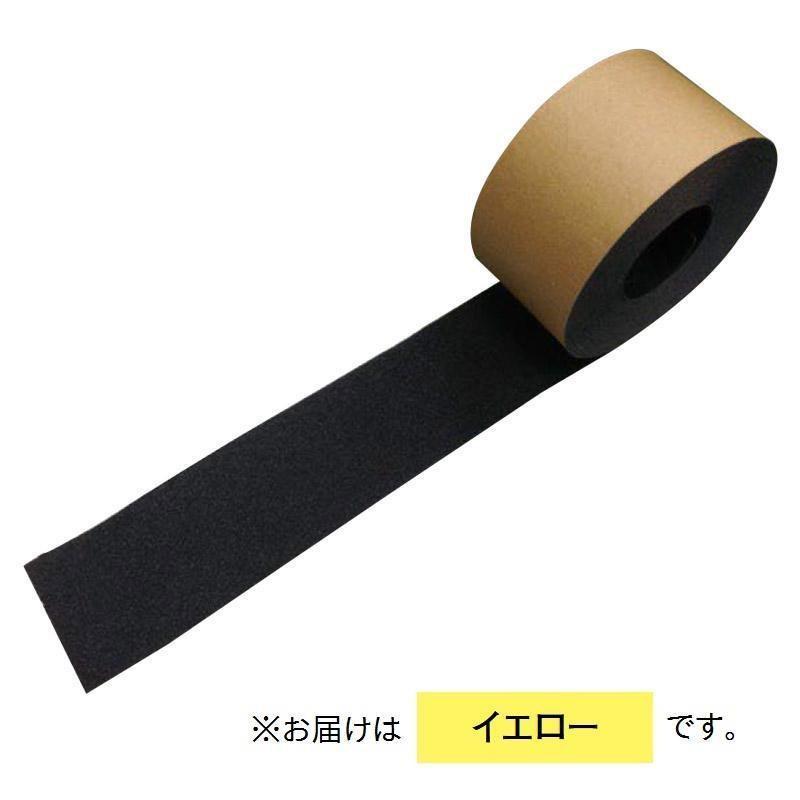 ヤナセ ノンスリップテープ 100×5000mm 厚み0.8mm 5個入 イエロー RNST-100E