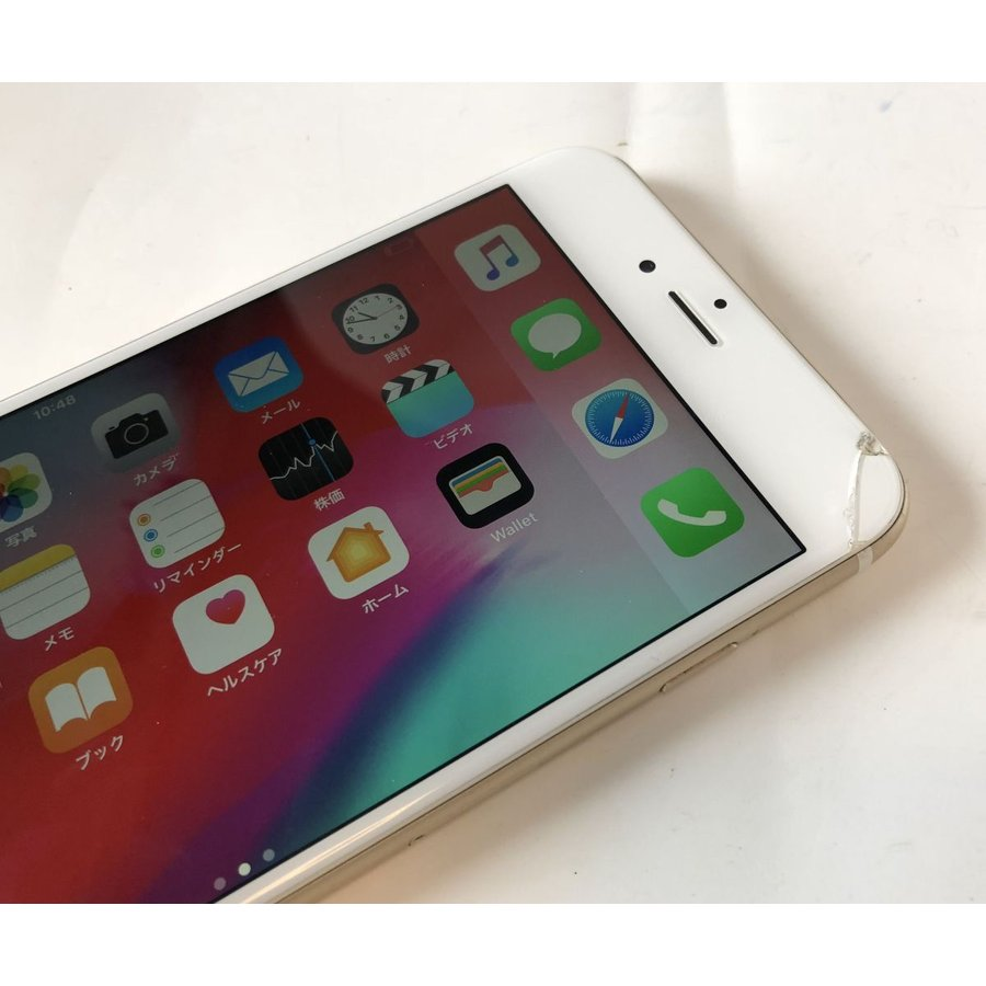 iPhone6 Plus 128GB SIMロック ゴールド au  中古  残債なし Apple iPhone MGAF2J/A|office-create2|05