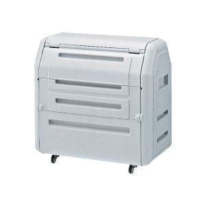 ウチダ ジャンボダストボックス·ゴミ箱 W1190×D710×H1160ミリ 1-416-3700【送料無料】