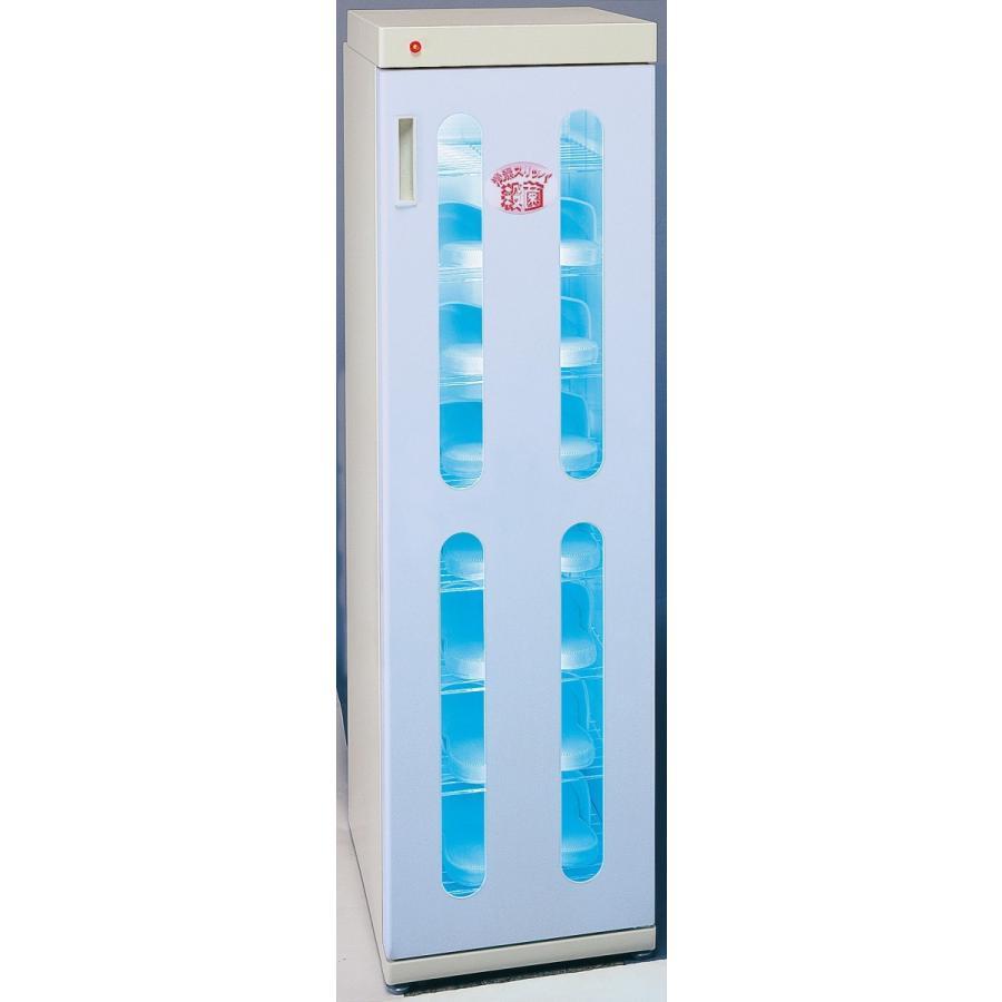 クリーンボックス スリムエイト 8足用 DM-SLT ブルー  (15分消灯タイマー内蔵型)