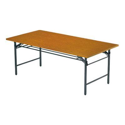 折りたたみテーブル/共貼り・ワイド脚・幅1200×奥行600mm/AI-TW-1260