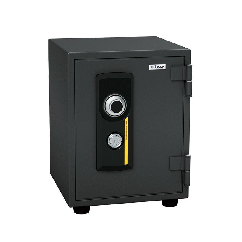 エーコー 家庭用 小型 耐火金庫 ダイヤル式 A4用紙収納可/BES-8