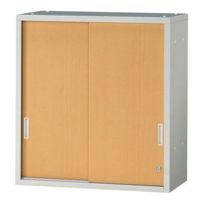 JL Storage 引違保管庫 上置用 鍵付き 幅700×奥行400×高さ750mm ホワイトメープル ホワイトメープル ホワイトメープル /PL-JL-A75S-WM 903