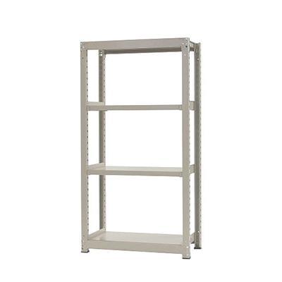 本体 スチールラック 中量 300kg-単体 4段/幅900×奥行600×高さ2400mm/KT-KRM-096024-S4
