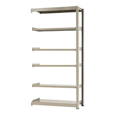 追加/増設用 スチールラック 中量 300kg-増設 6段/幅1200×奥行600×高さ2400mm/KT-KRM-126024-C6