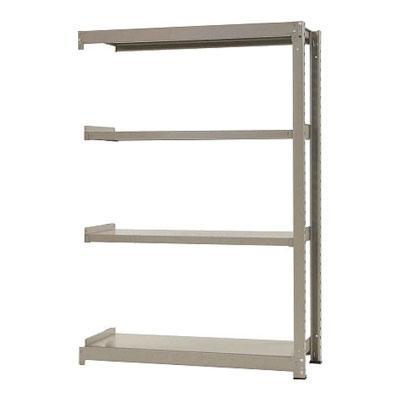 追加/増設用 スチールラック 中量 300kg-増設 4段/幅1200×奥行750×高さ1800mm/KT-KRM-127518-C4