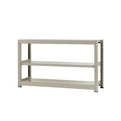 本体 スチールラック 中量 300kg-単体 3段/幅1500×奥行900×高さ900mm/KT-KRM-159009-S3