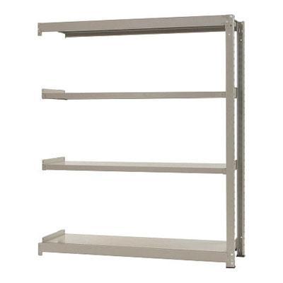 追加/増設用 スチールラック 中量 300kg-増設 4段/幅1500×奥行900×高さ2400mm/KT-KRM-159024-C4